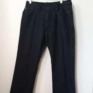 Polo | Men's 650 Straight Dark Blue Pants | 34X30
